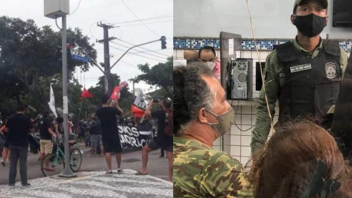 Paulo Câmara ataca manifestação da direita e permite da esquerda