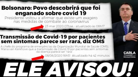 Hashtag #BolsonaroTemRazao chega ao topo dos Trending Topics