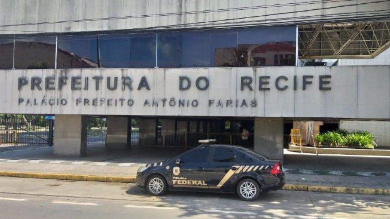 Polícia Federal cumpre 6 mandados por contratos de R$81 milhões da Prefeitura do Recife