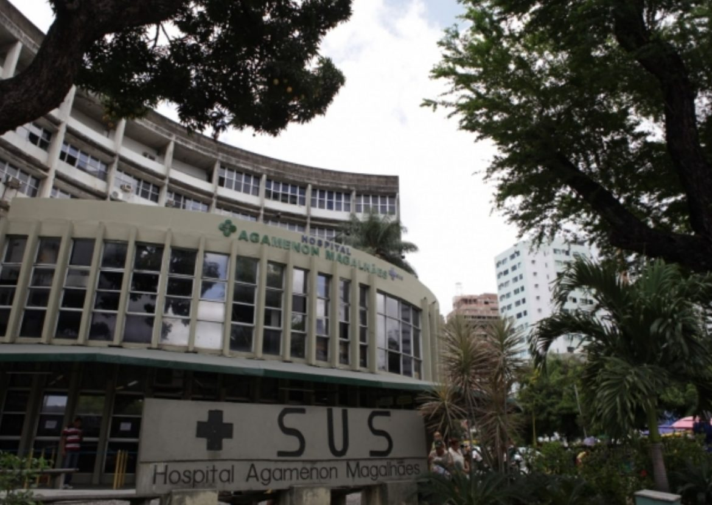 Hospital Agamenon Magalhães teve outro vazamento de gás e explosão