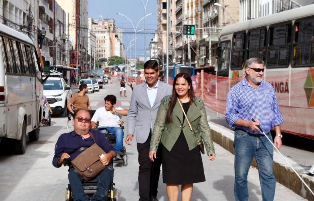 Michele Collins fala da importância da Semana Municipal da Pessoa com Deficiência