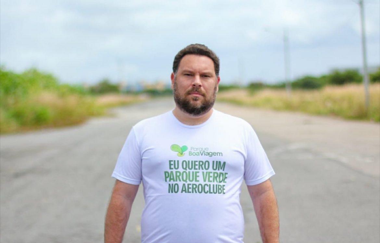 """""""O que estão fazendo no terreno do antigo Aeroclube é especulação eleitoral"""", afirma Wanderson Florêncio"""