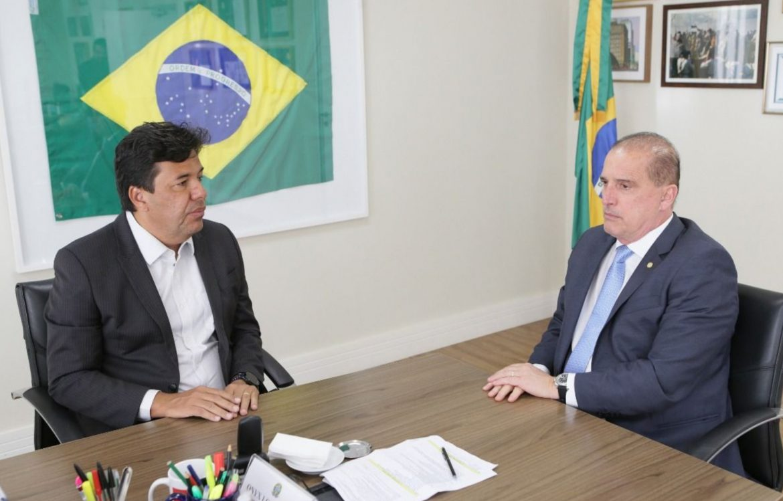 Mendonça debate Renda Brasil com ministro da Cidadania, Onyx Lorenzoni