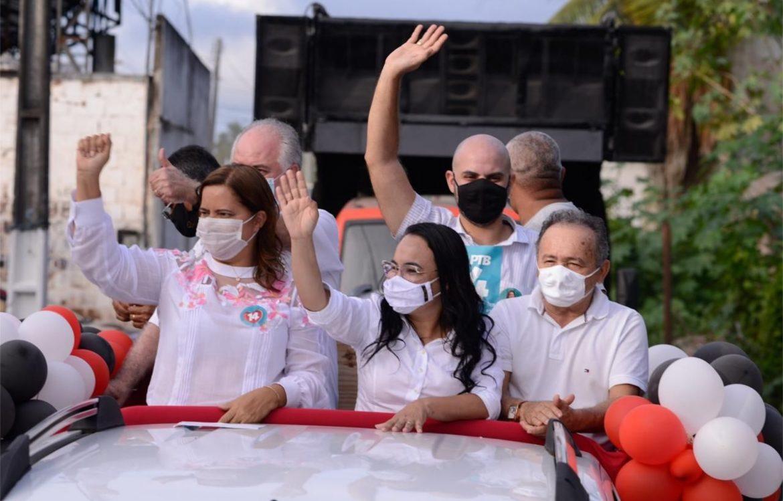 Célia Sales inicia campanha com grande mobilização dos ipojucanos