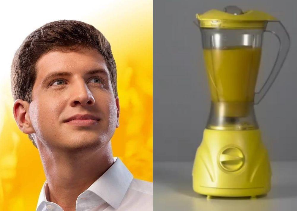Por que um liquidificador amarelo quebrado incomoda o PSB?