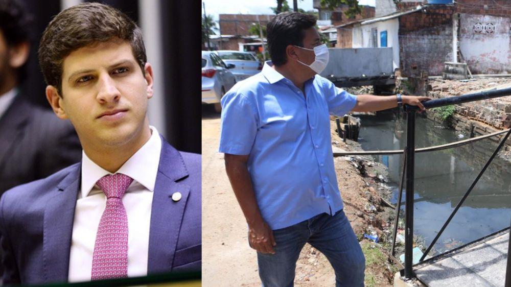 Mendonça diz que canal no Coque é o Recife real que João Campos esconde na propaganda