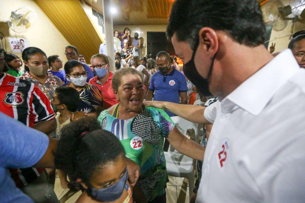 Anderson destaca ações de estímulo ao esporte em reunião com moradores de Jaboatão Centro
