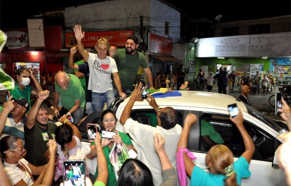 Jaboatão: Daniel Alves e Sérgio Meneguelli juntos em carreata histórica