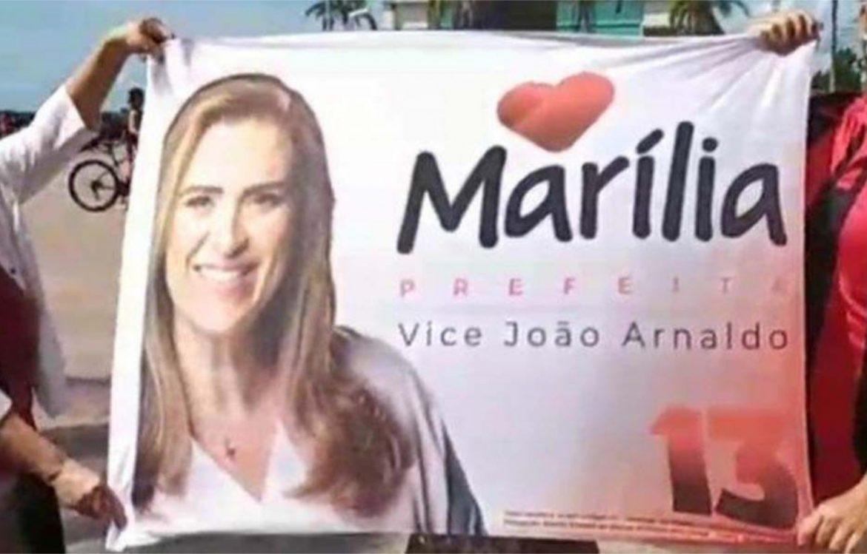Marília esconde sobrenome Arraes para atrair eleitor bolsonarista