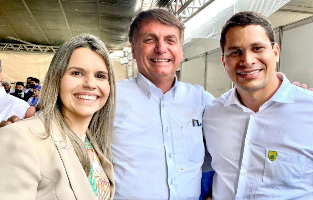Clarissa Tércio participa de agenda de inaugurações de Bolsonaro no Sertão