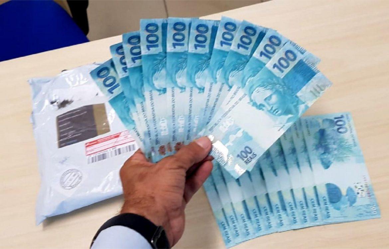 Goiana: homem é preso ao receber notas falsas pelo Correio