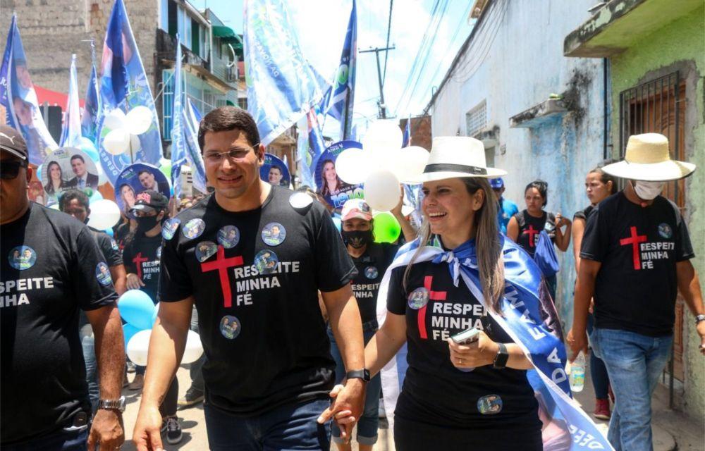 Receptividade do povo marca a caminhada do Pastor Júnior Tércio em Brasília Teimosa