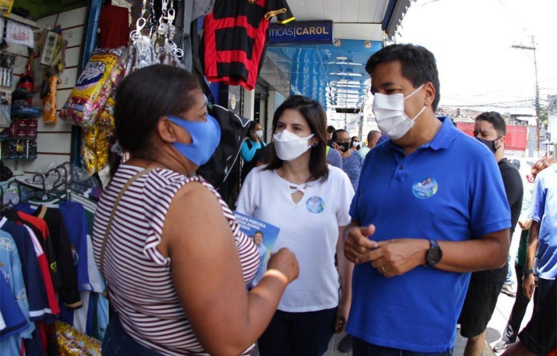 Mendonça diz que vai recuperar os Mercados Públicos para fortalecer a economia de bairro
