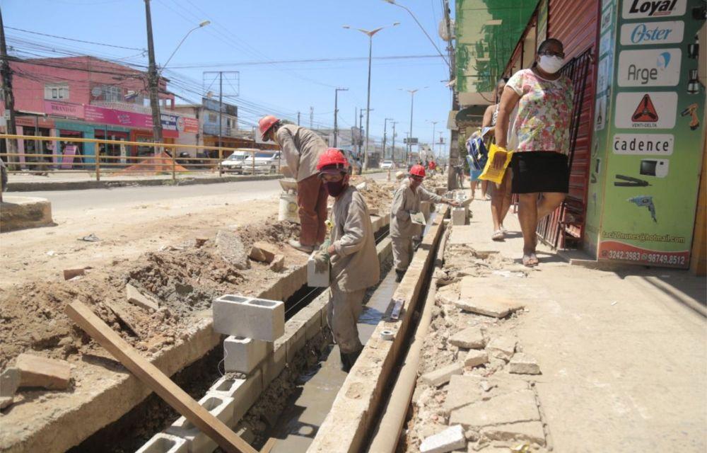 Prefeitura de Olinda realiza obras na segunda etapa da Presidente Kennedy