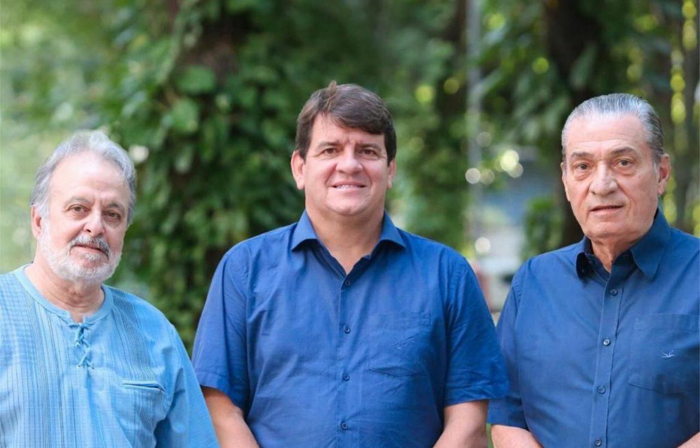 Gustavo Krause e Joaquim Francisco reforçam campanha de Alcides Cardoso