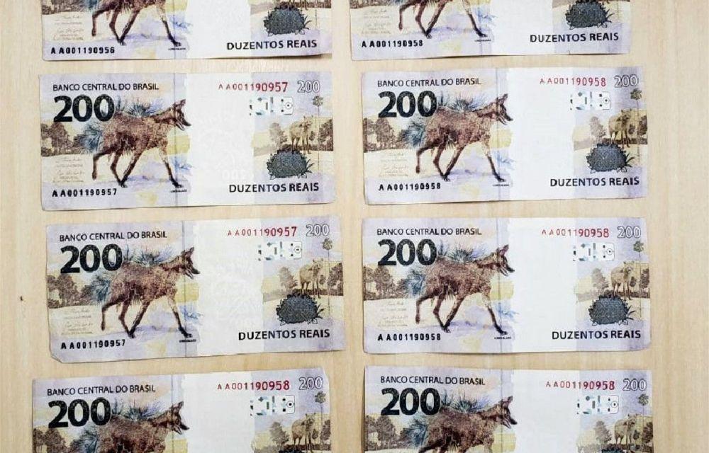 Camaragibe: homem sofre golpe ao receber cédulas falsas de R$ 200 como pagamento