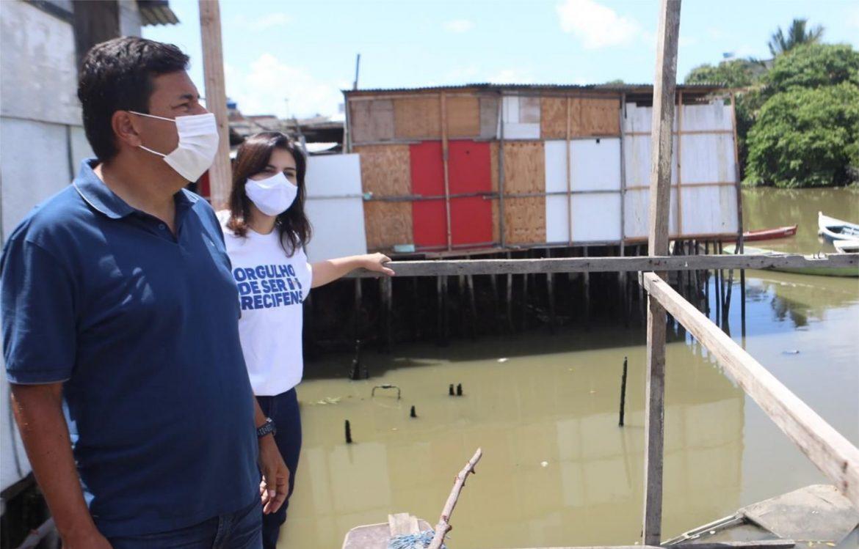 Mendonça cobra do PSB/PT o apagão habitacional no Recife e garante que vai acabar com as palafitas