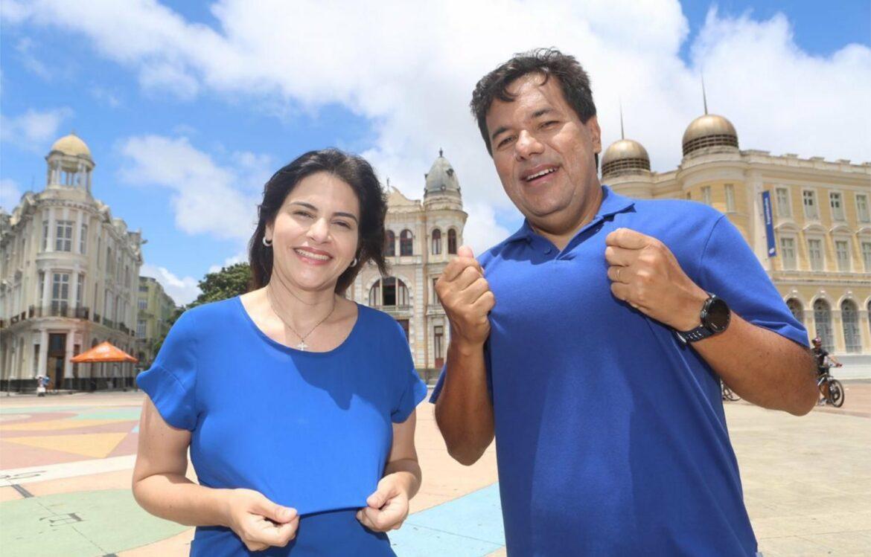 Mendonça e Priscila convocam as pessoas para tirar o PSB e o PT e mudar o Recife