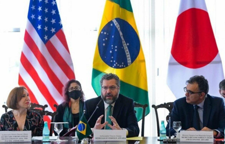 Brasil, Japão e Estados Unidos lançam Diálogo Trilateral