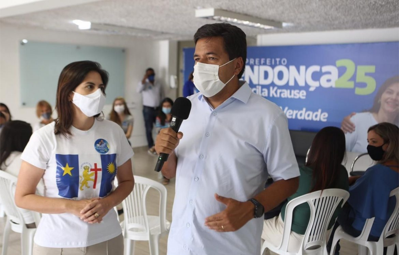 Mendonça e Priscila anunciam propostas para a saúde da mulher  na rede pública