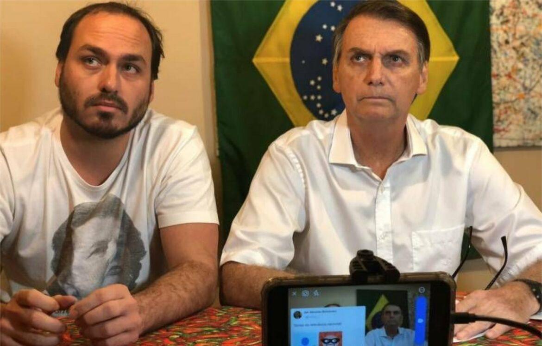 Carlos Bolsonaro critica apoio do Podemos a Moro e Huck em 2022