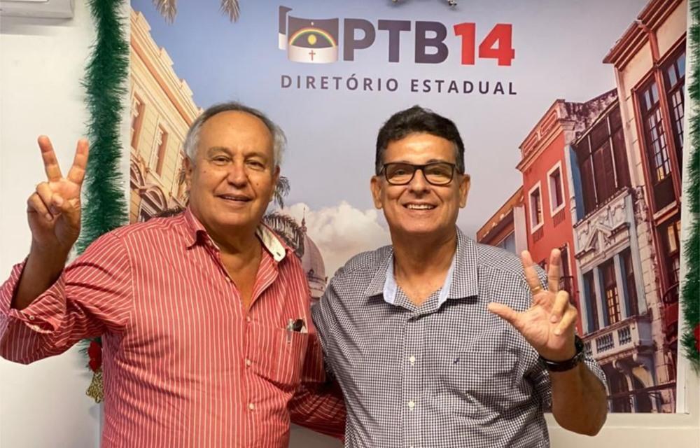 Coronel Meira assume oficialmente a presidência do PTB de Pernambuco