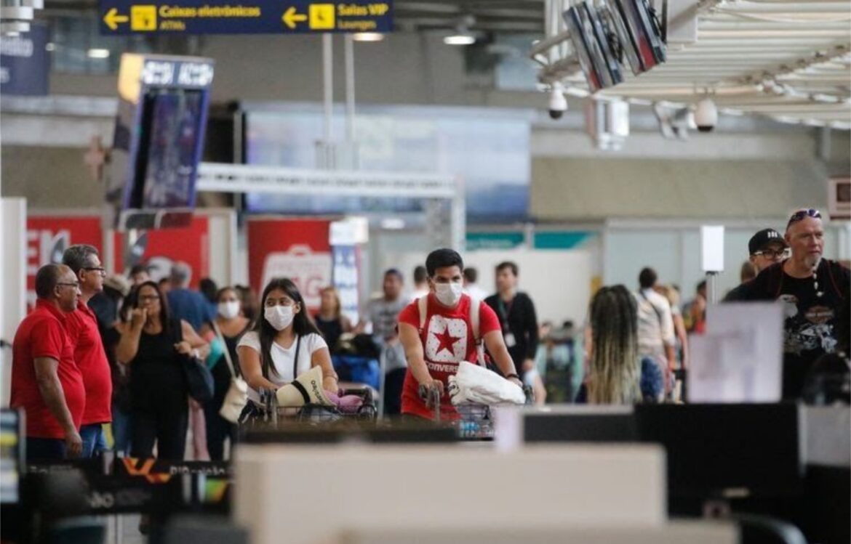 Turistas sem teste negativo da Covid-19 serão proibidos de entrar no Brasil
