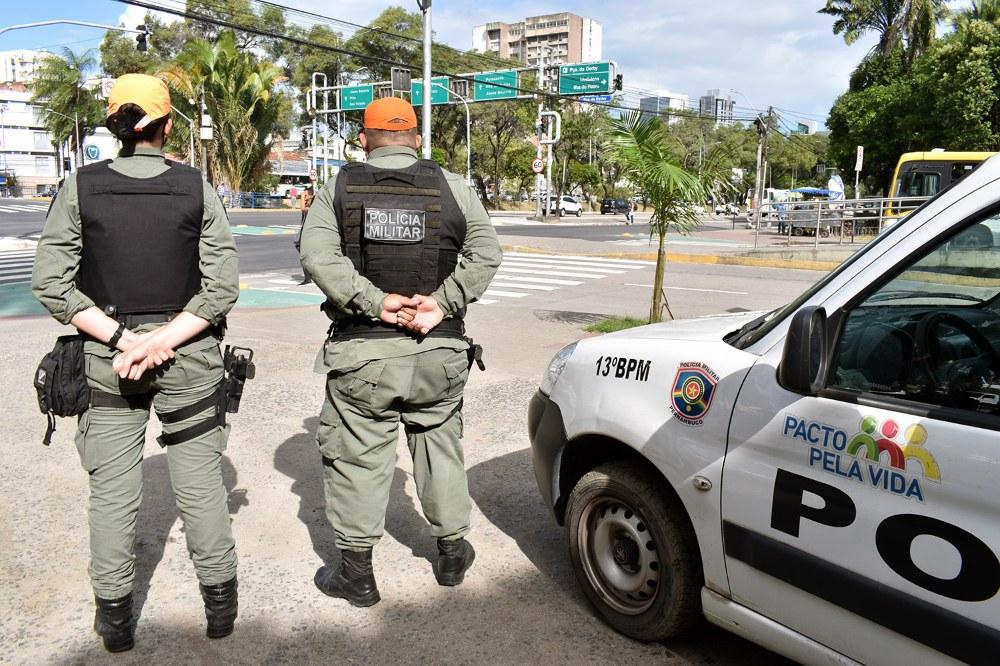 Pandemia faz Recife ter menor número de roubos da série histórica em 2020