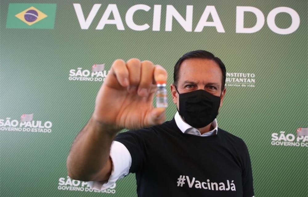 Sem hipocrisia: CoronaVac é conquista política de João Dória