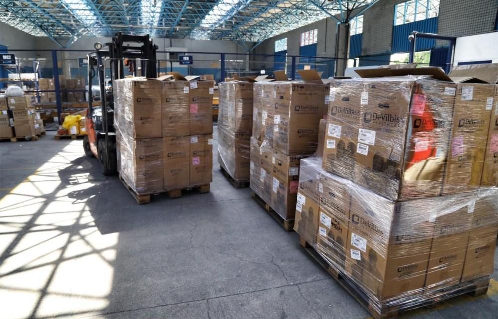 Concentradores de oxigênio do Recife chegam a Manaus