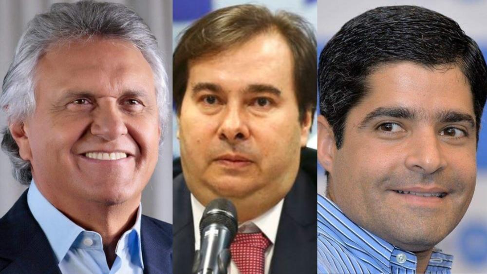 """ACM Neto fala que Rodrigo Maia apresenta """"descontrole"""" e Caiado fala em """"internação"""""""