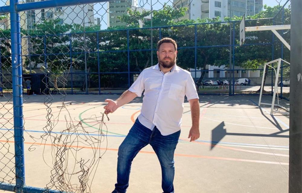 """""""O Parque Dona Lindu merece mais atenção da Prefeitura do Recife"""", afirma Wanderson Florêncio"""