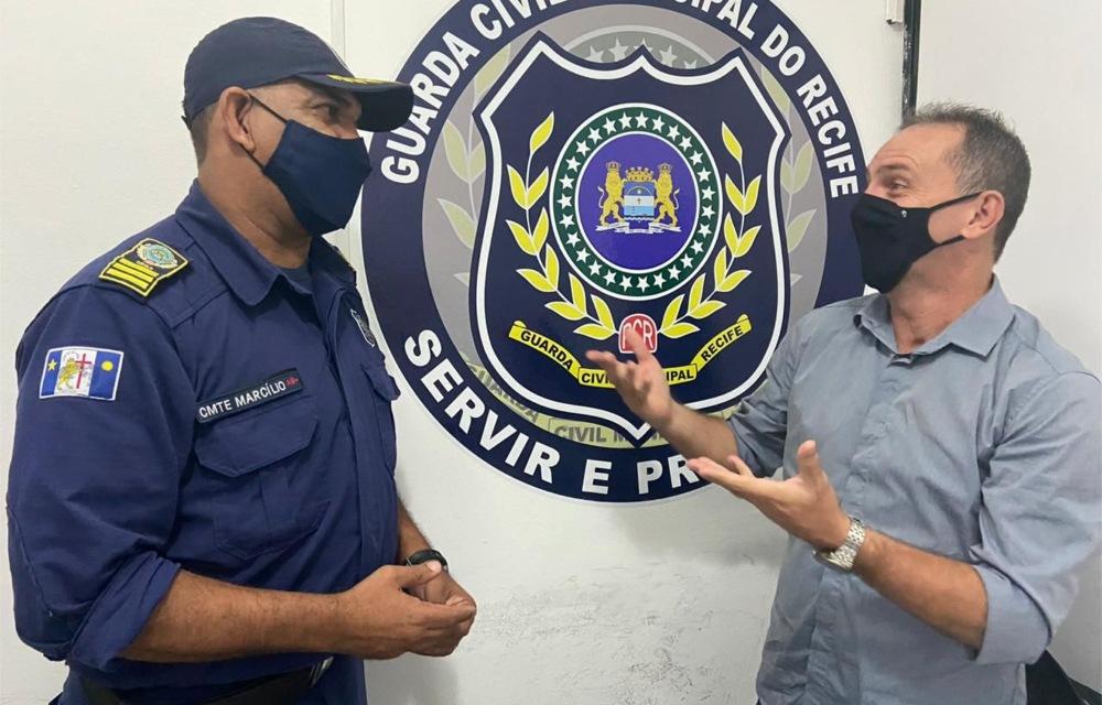 Professor Mirinho comemora Dia da Guarda Municipal do Recife