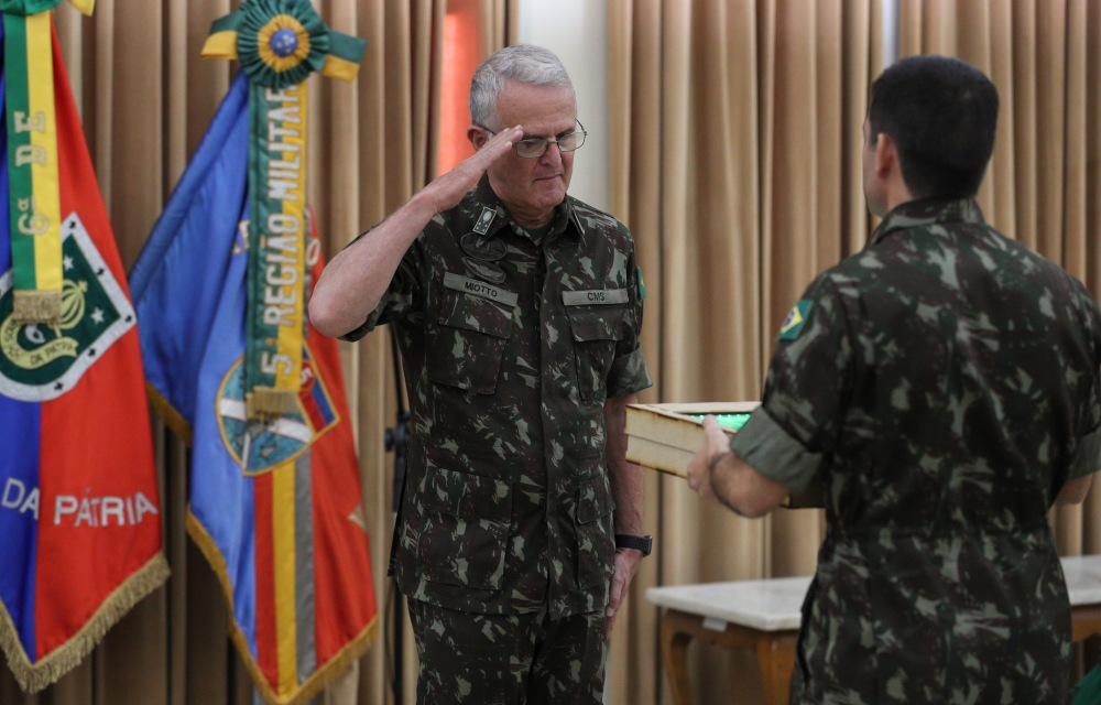 Militar veterano pode atuar no Programa das Escolas Cívico-Militares