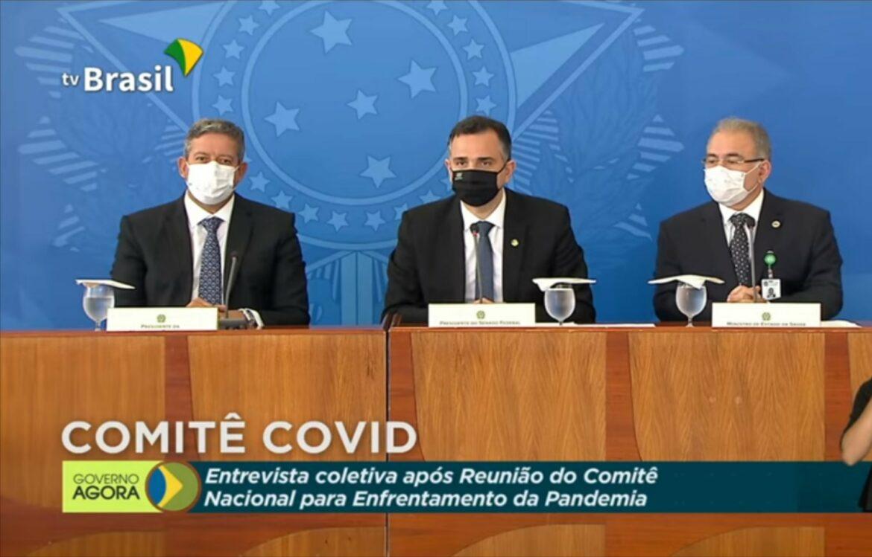 Comitê debate novas medidas de enfrentamento à pandemia