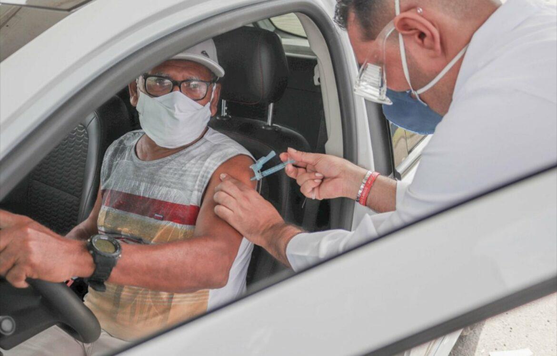 Cabo inicia vacinação da população a partir de 67 anos na segunda-feira (29)