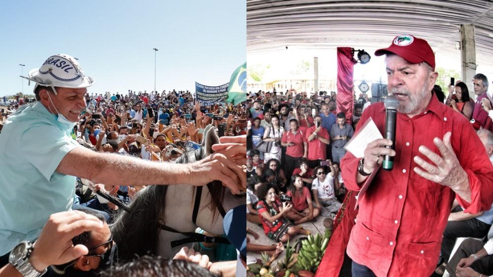 Eleição presidencial deve polarizar entre Bolsonaro e Lula em 2022
