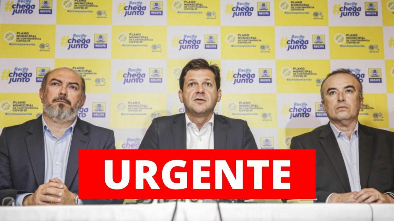 CPI da Pandemia vai investigar o Covidão do Recife