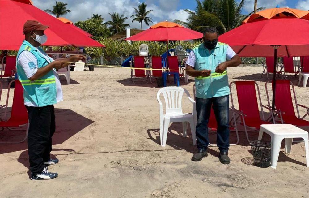 Prefeitura do Ipojuca reforça orientações para reabertura do comércio de praia