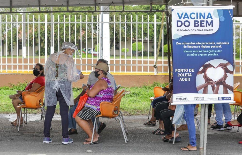 Jaboatão lança campanha Vacina do Bem para  estimular doação de donativos