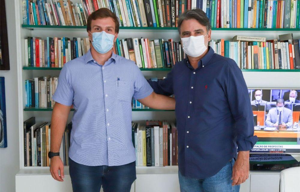 Miguel Coelho debate com Raul Henry fortalecimento do MDB em Pernambuco