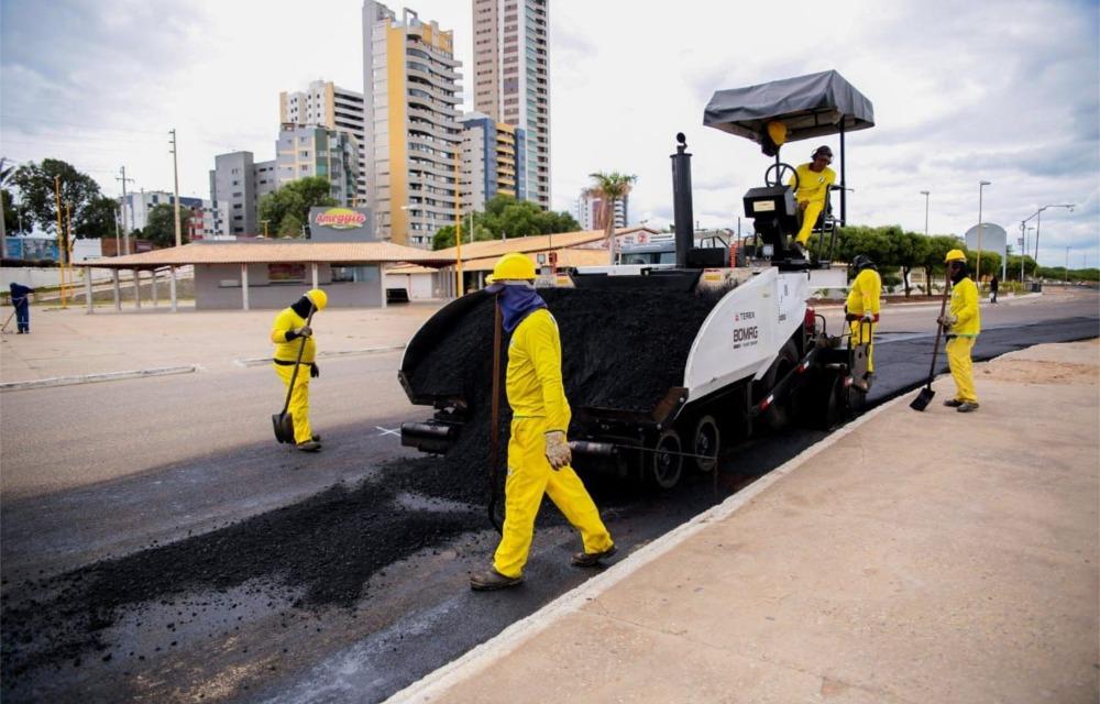 Prefeitura pavimentou mais de 220 quilômetros de ruas em Petrolina em 5 anos
