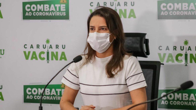 Raquel Lyra anuncia reforços para conter avanço da Pandemia em Caruaru