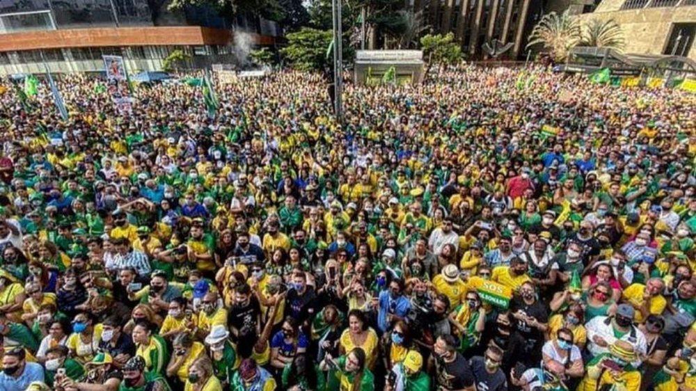 Força do Bolsonarismo pôde ser sentida nas ruas do Brasil