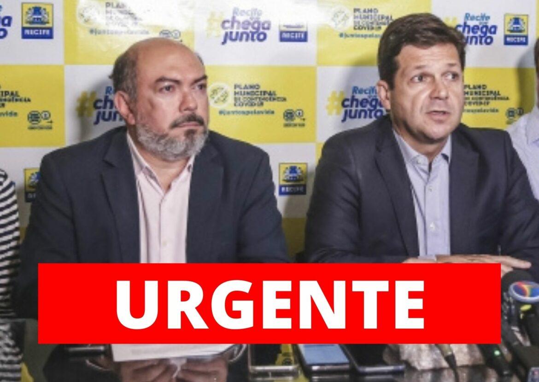 Ex-Secretário de Geraldo tenta impedir que CPI investigue o Covidão do Recife