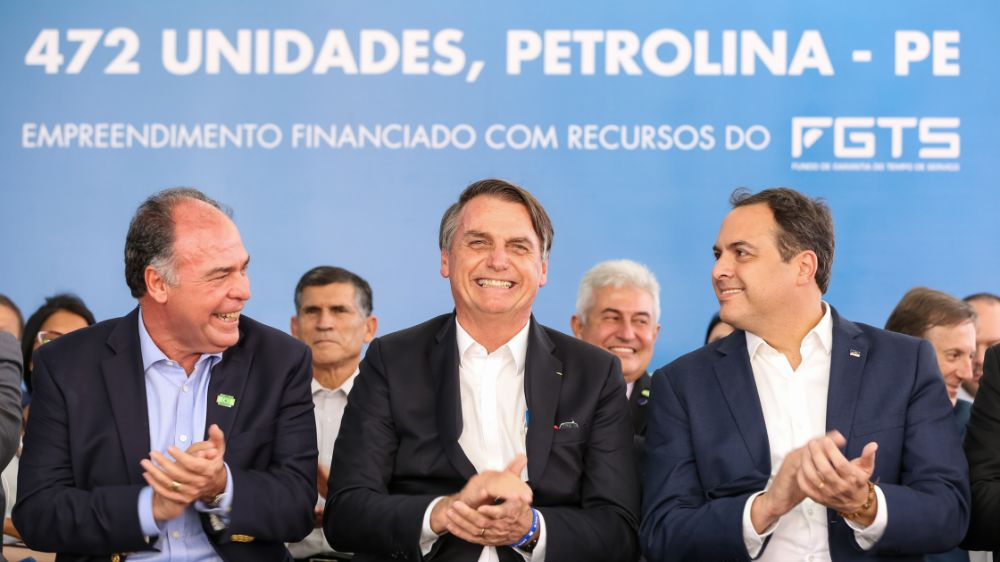 Bolsonaro aciona STF contra quarentena de Paulo Câmara em Pernambuco