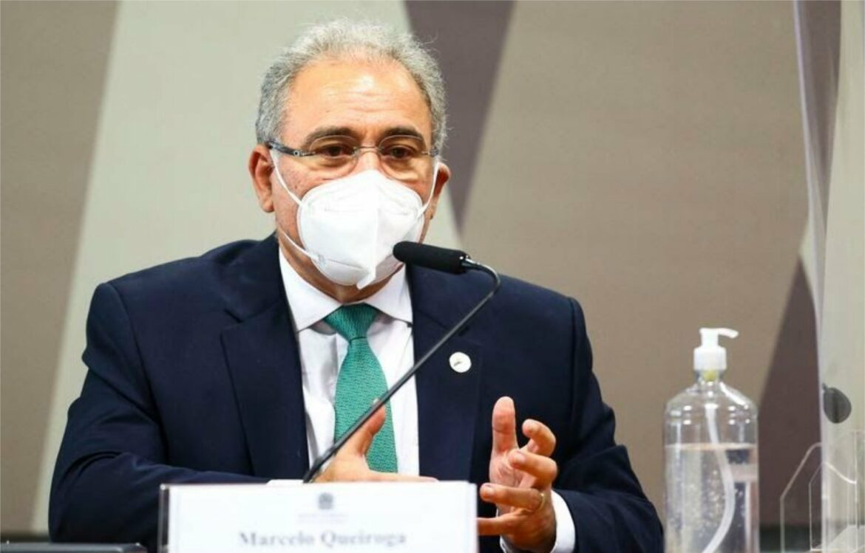 CPI: Queiroga diz que enfrentamento à pandemia requer união de forças