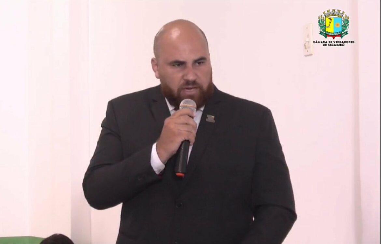 Vereador contesta cassação de mandatos do PT e PSB em Tacaimbó