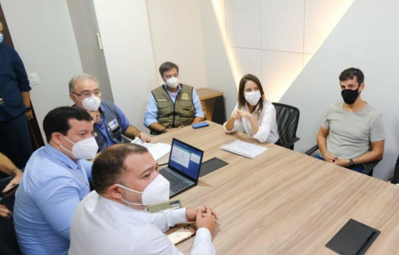 Raquel Lyra recebe ministro da Saúde e pede mais vacinas para o Agreste