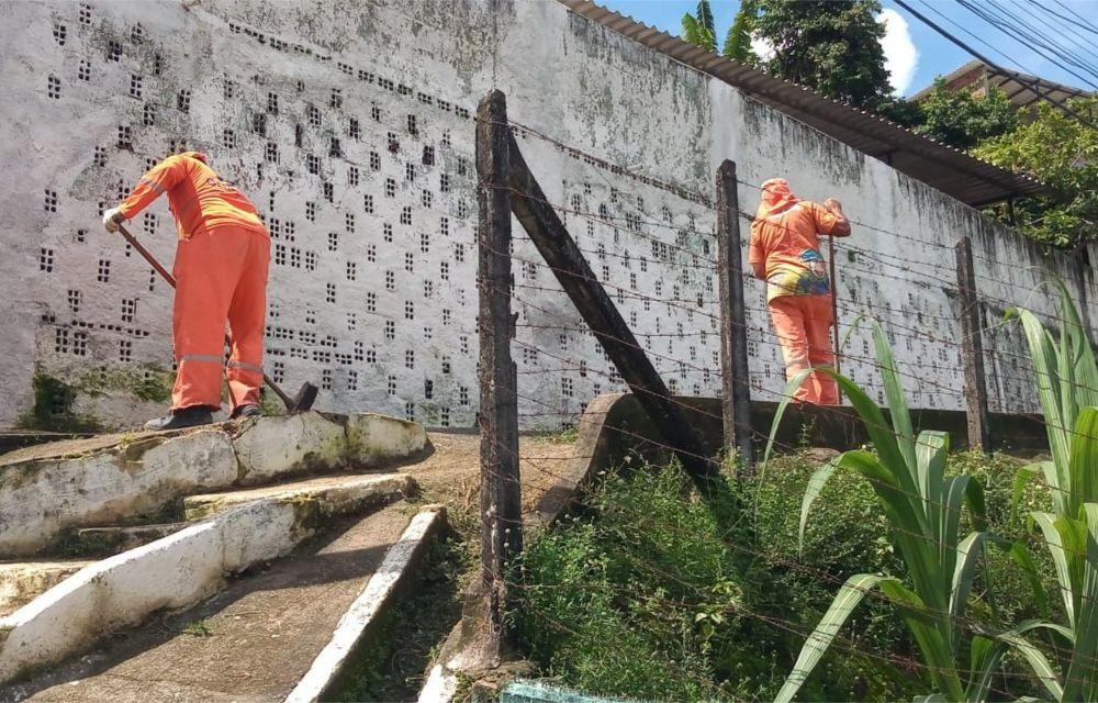 Córrego do Aureliano, em Olinda, recebe ação do Projeto Arrumando a Casa